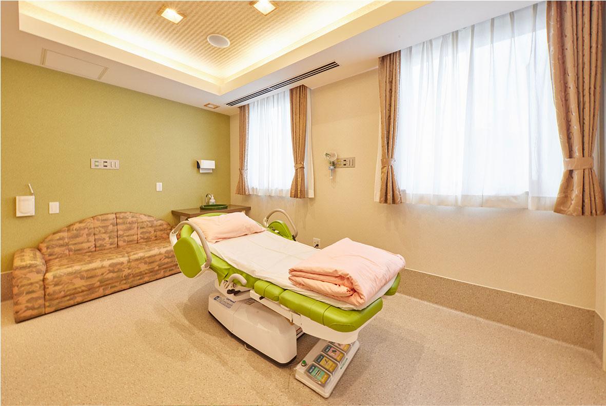 田中病院産婦人科の分娩室